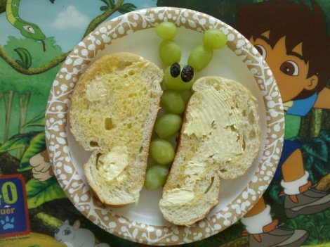 food is fun: butterfly