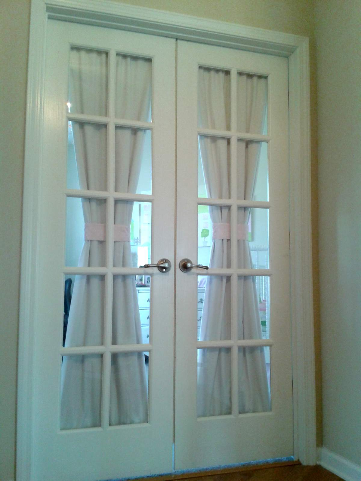 A diyer s home nursery tour campclem for Home hardware interior french doors