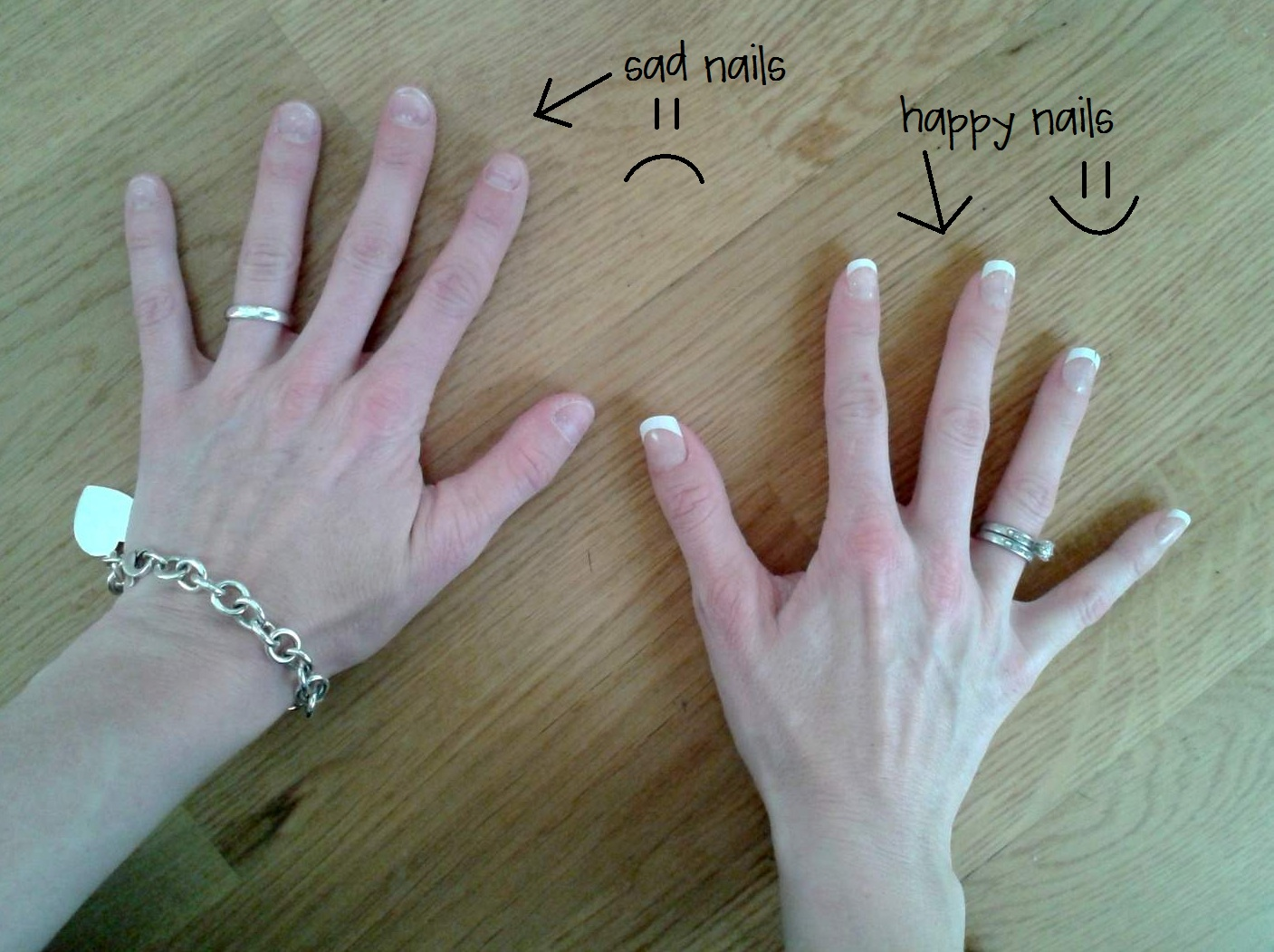 How A Busy Mom-Of-Three Keeps A Manicure {and you can too} | CampClem