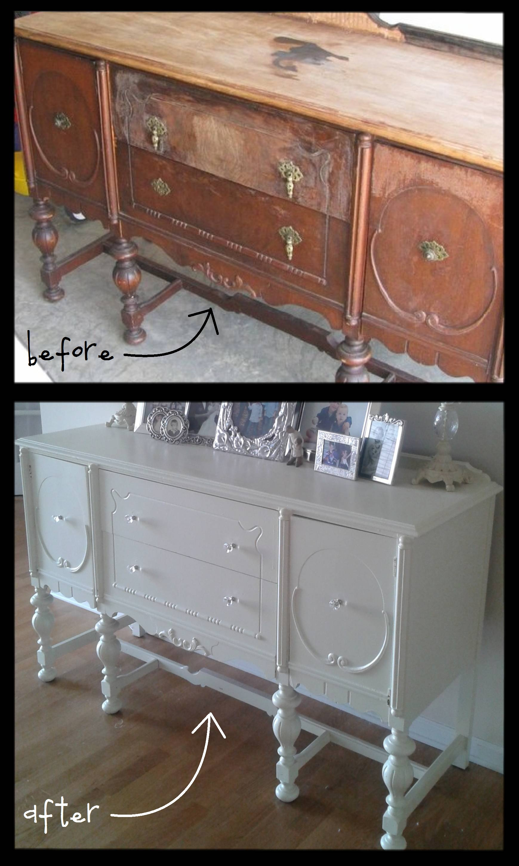 How To Score And Refinish A CraigsList Furniture Piece CampClem