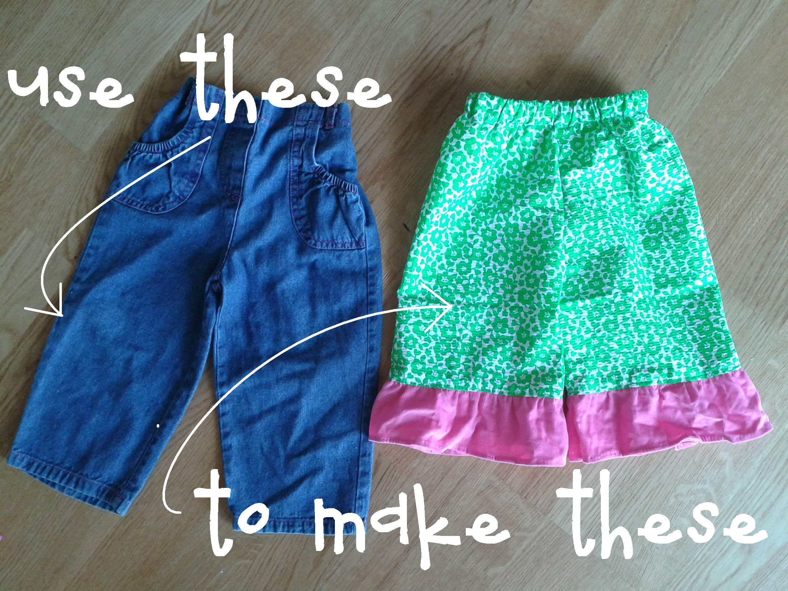 Fast Easy Stinkin Cute Ruffle Pants Free Tutorial
