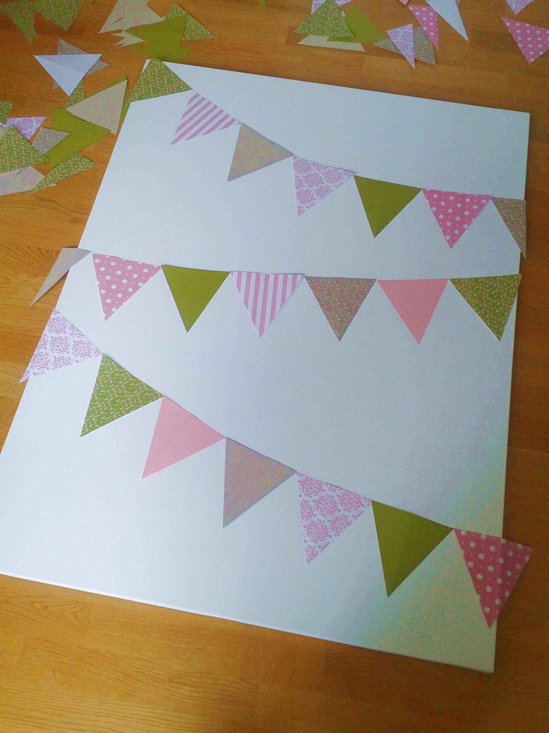 How to scrapbook canvas - Decisions