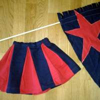 Free Tutorial: Fast, Simple, Adorable Peek-A-Boo Pleat Skirt