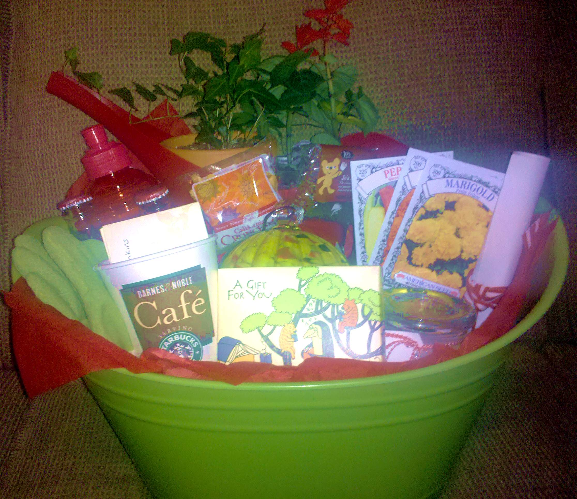 sparkly ladies!: gift basket guide