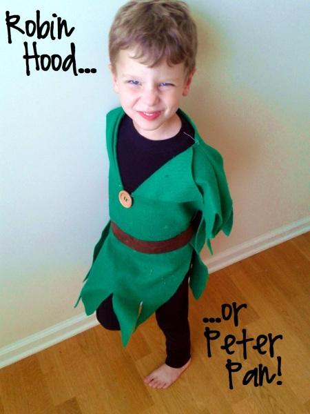 Robin Hood e Peter pan