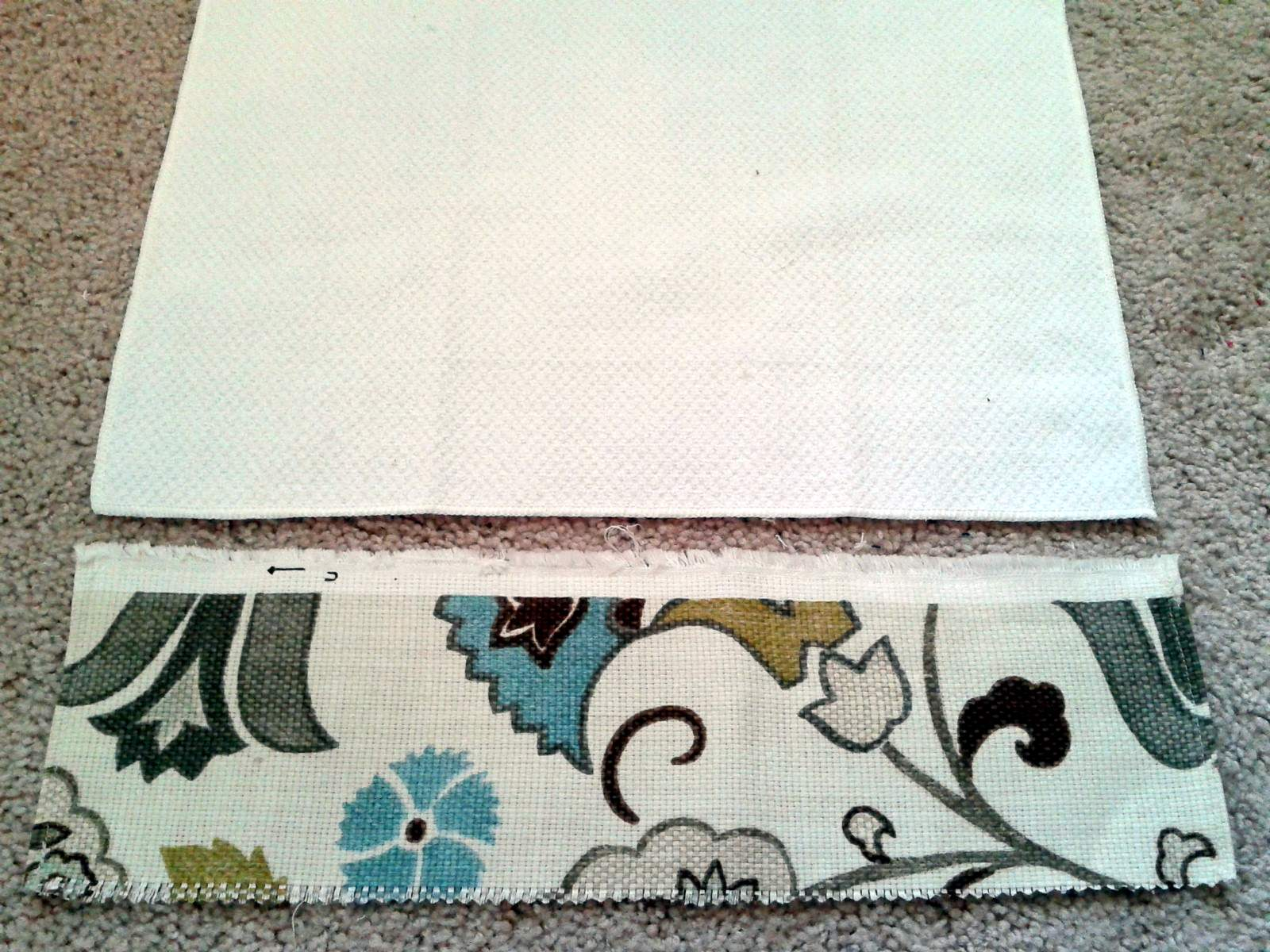 take a piece of fabric about 5 inches long and as wide plus seam allowance as your towel fold over the left right sides and sew a clean edge - Kitchen Hand Towels
