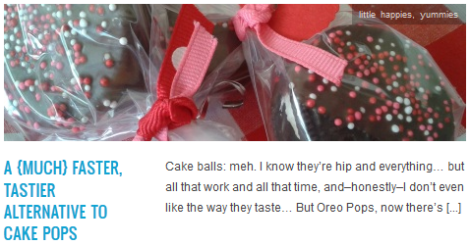 LINK a {much} faster, tastier alternative to cake pops