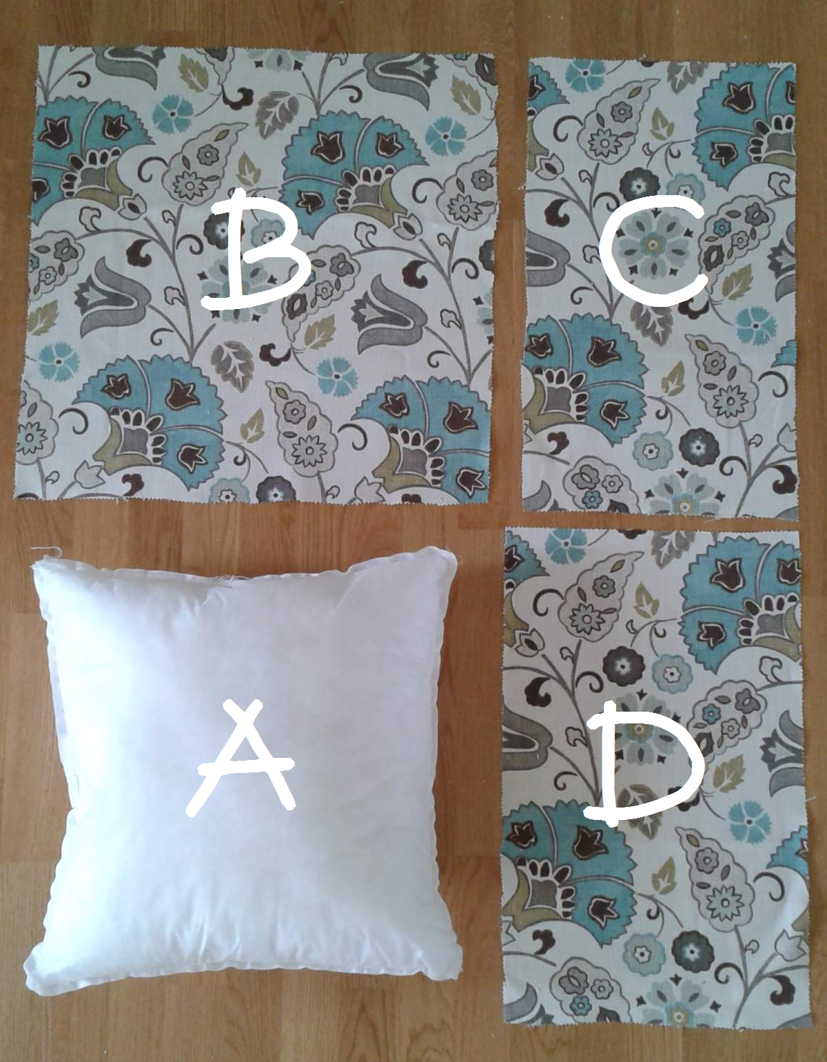 Making A Decorative Pillow : How To Make Simple Pillow Shams CampClem