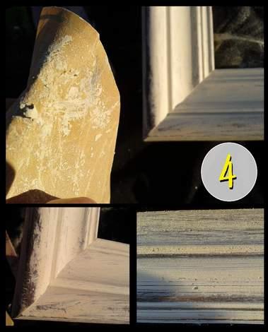 3 frame aging step 4