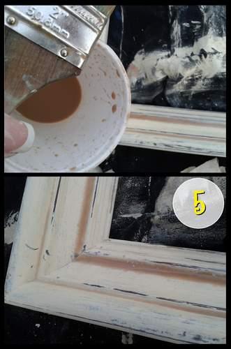 4 frame aging step 5
