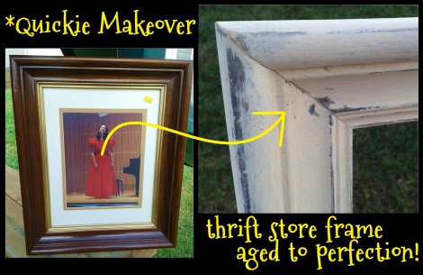 frame aging before and after