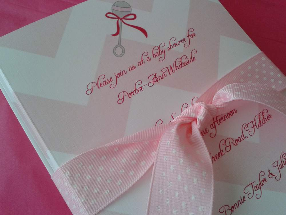 go back gallery for diy baby shower invitations
