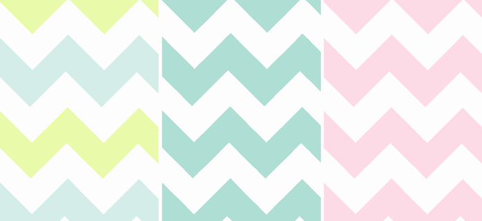 How To Create Simple, Gorgeous Chevron Invitations | CampClem