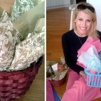 Simple Gift Basket For A {homeless} Mom