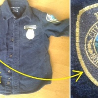 Easy DIY Costume: Authentic Police Officer Uniform