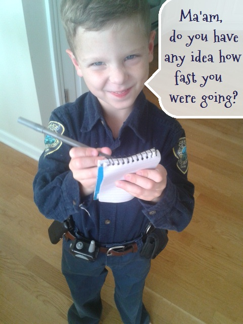 Easy diy costume authentic police officer uniform campclem if solutioingenieria Gallery