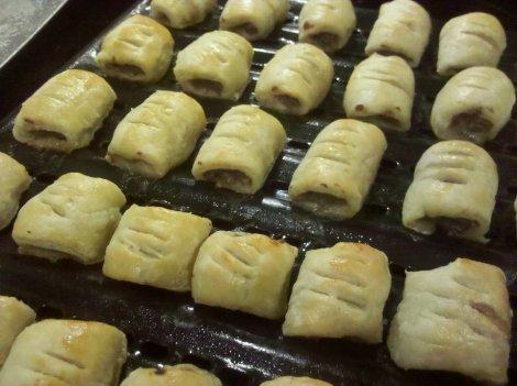 001 sausage rolls yummy