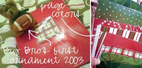 02 Christmas book cover & pages