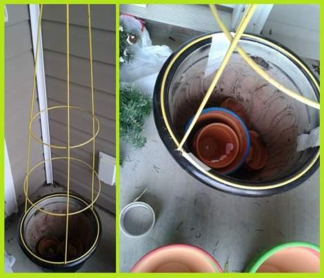 04 tomato cage tree frame