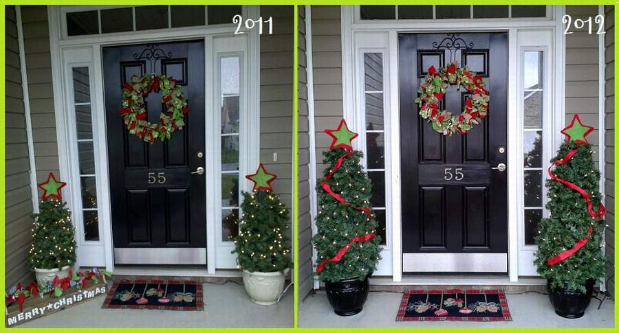 design porch trees decorative for smart decor christmas the rate first chritsmas
