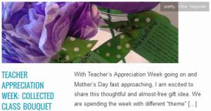 LINK Teacher Appreciation Week Collected Class Bouquet
