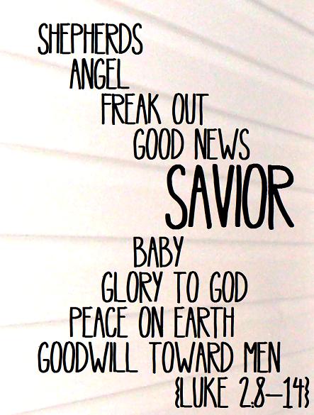 Luke 2 8-14