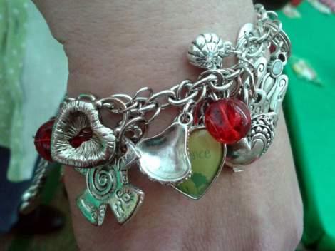 teacher charm bracelet gift