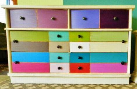 booth 121 furniture stripe dresser mid century modern