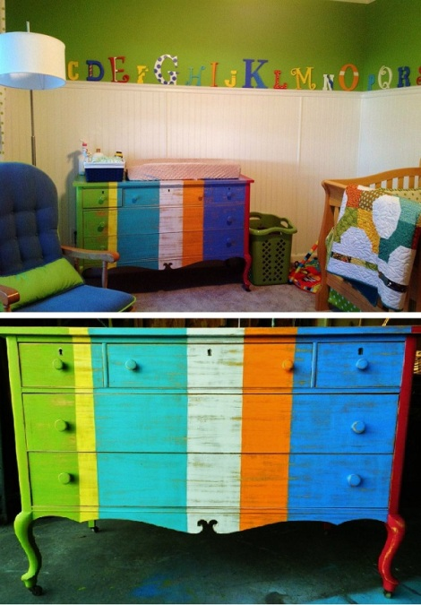 booth 121 furniture stripe dresser nursery