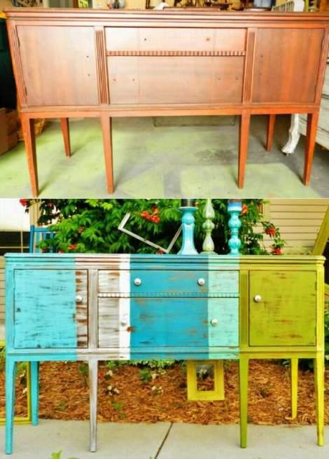 booth 121 furniture stripe sideboard buffet