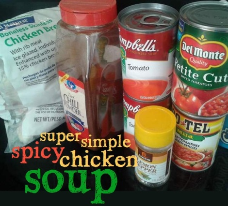 easy spicy chicken soup ingredients