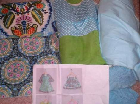 fabric destash sissy dress fabric