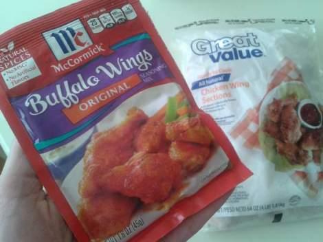 game food hot wings