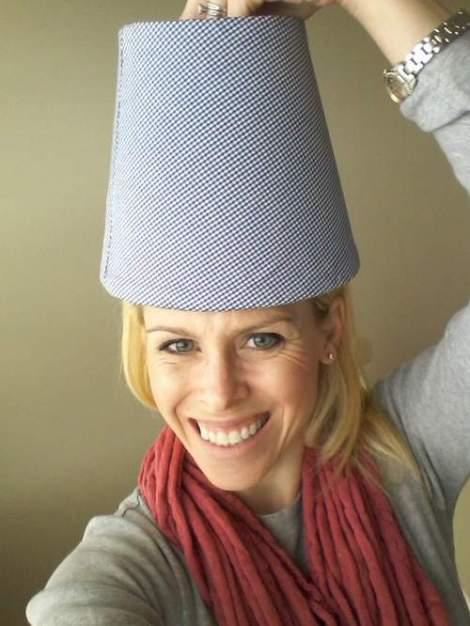 lampshade makeover 12 pretend I'm a lamp