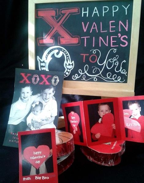 photo valentines DIY