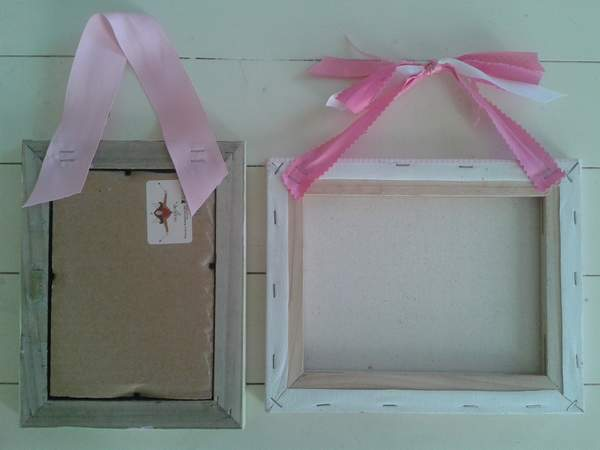 A Little Picture Frame Diy For Sissys Room Campclem