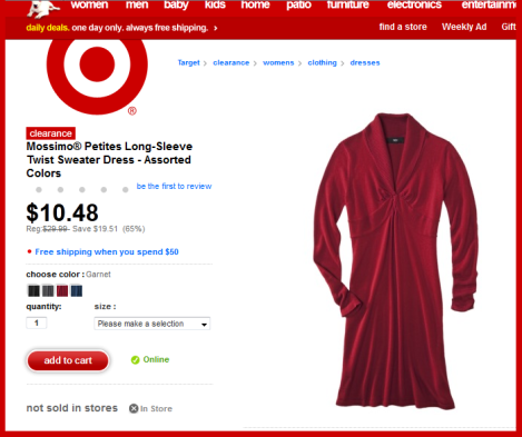 spirit wear Target dress