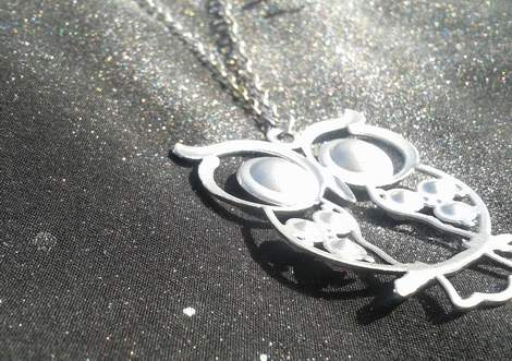 03 owl necklace