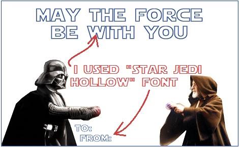 05 star wars valentine paint font