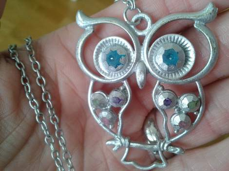 06 owl necklace
