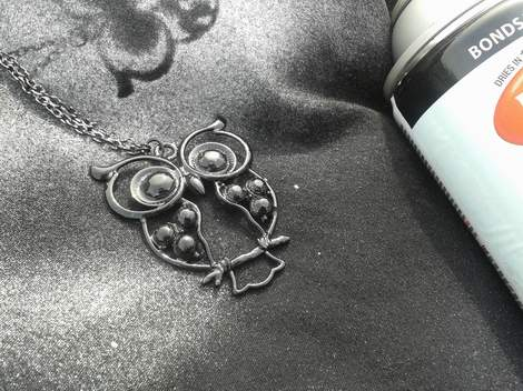 07 owl necklace