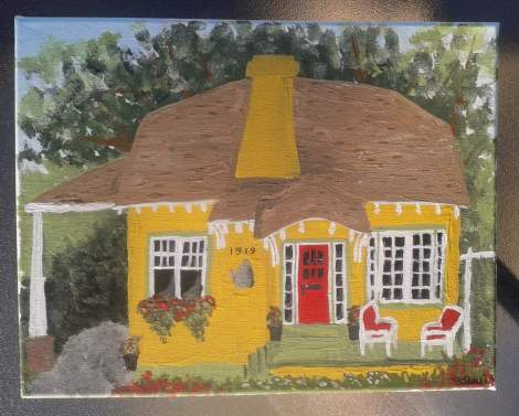 08 cottage painting