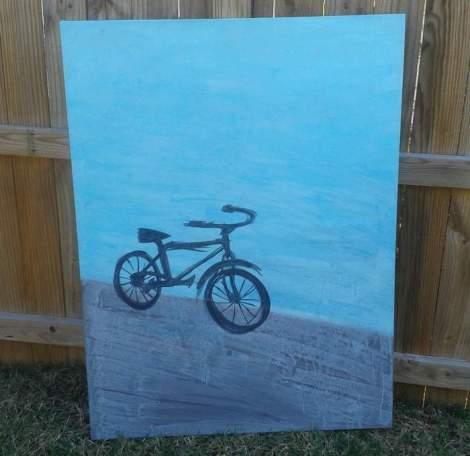 11 bike painting