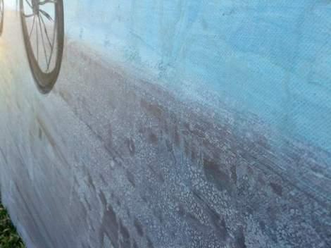 12 bike painting detail