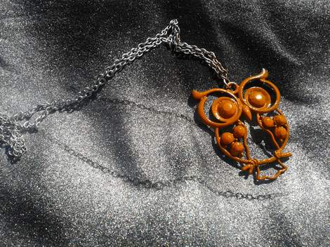 12 owl necklace