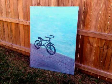 13 bike painting