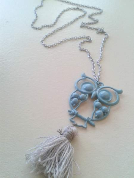 19 owl necklace