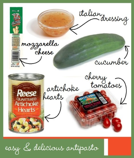 italian antipasto ingredients