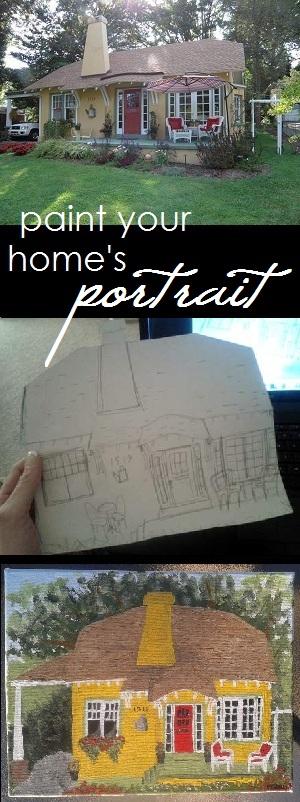 paint your home's portrait'