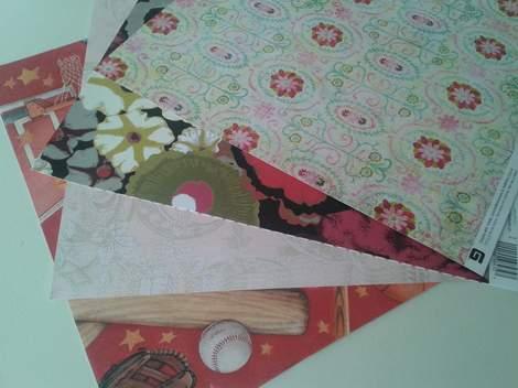 scrapbook paper wrap 2
